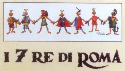 Li Sette Re De Roma Roma In Rima