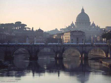 roma, la matina presto