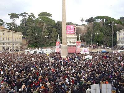 er sampietrino de piazza der popolo