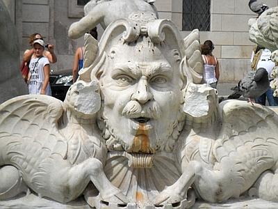 er vandalo de piazza navona