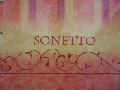 la regola der sonetto