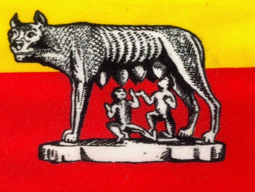 la bandiera di roma