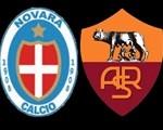 novara - roma 0-2